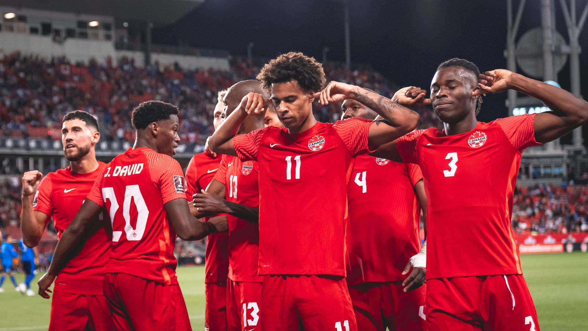 Canada earn impressive 3:0 win over El Salvador in FIFA World Cup Qatar 2022™ Qualifiers