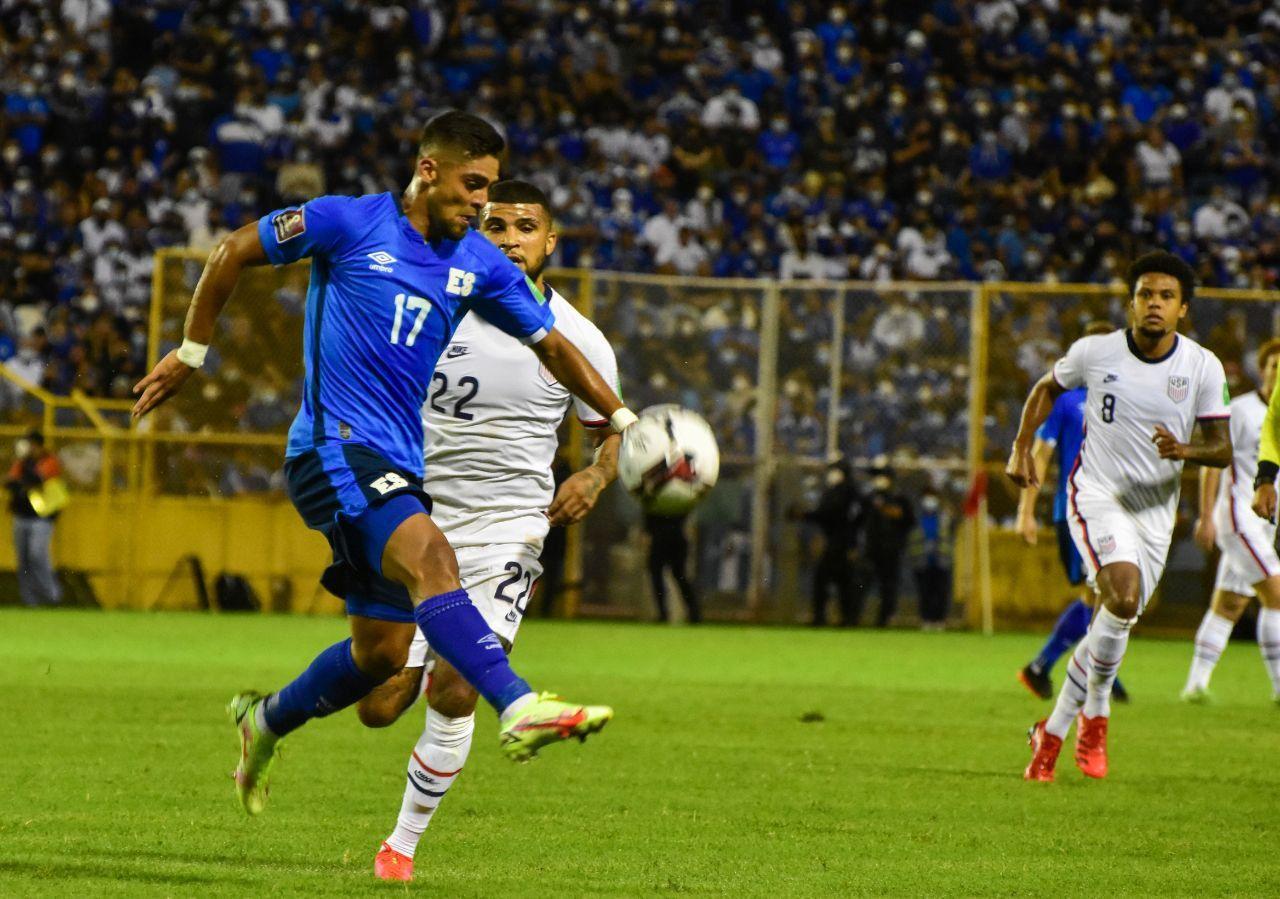 El Salvador 0-0 USA, hizo falta fútbol